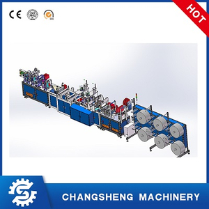 Automatic KN95 Face Mask Production Line