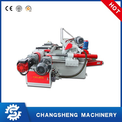 Veneer Peeling Machine 4 Feet Hydraulic Spindle Less Plywood Machine