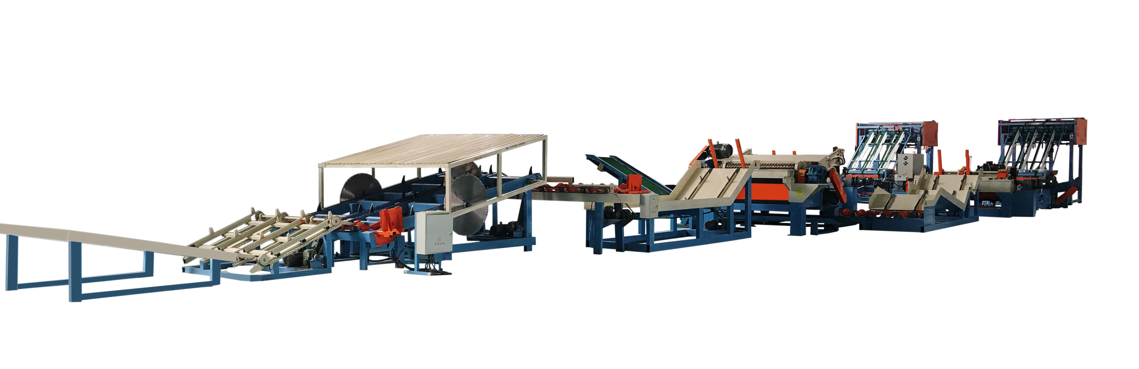 plywood veneer production line