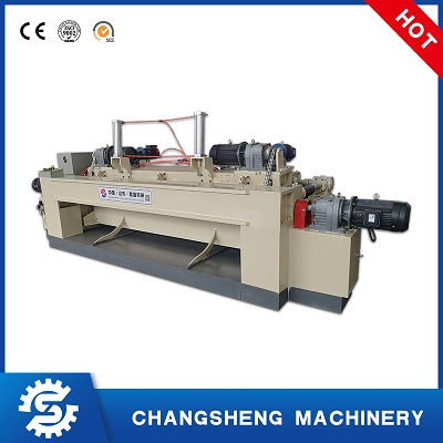 Rotary Face Veneer Peeling Making Machine 8 Feet Spindle-less