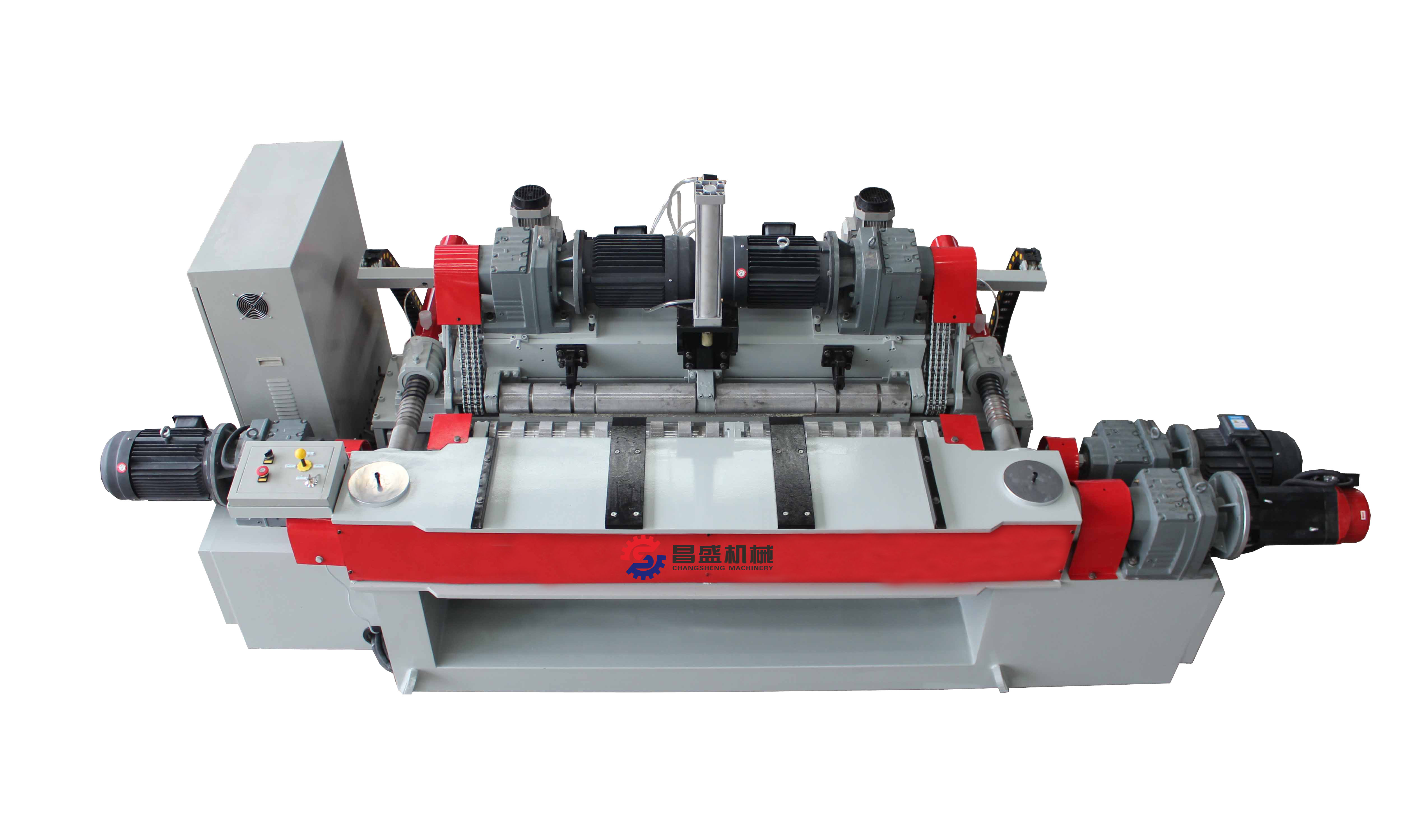 veneer peeling machine