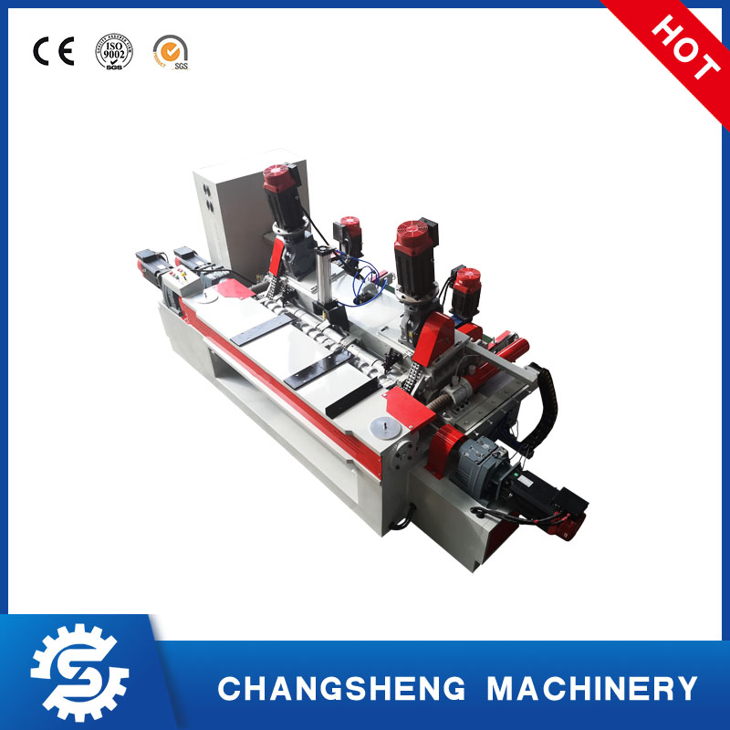 Rotary Plywood Veneer Peeling Machine 4 Feet Spindle less High Speed